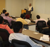 """One-day Programme on """"Exposure to Securities Markets of India"""" for NIFM Students"""
