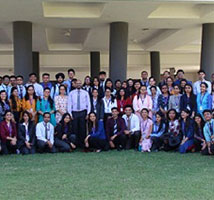 Visit-NISM, Indira College