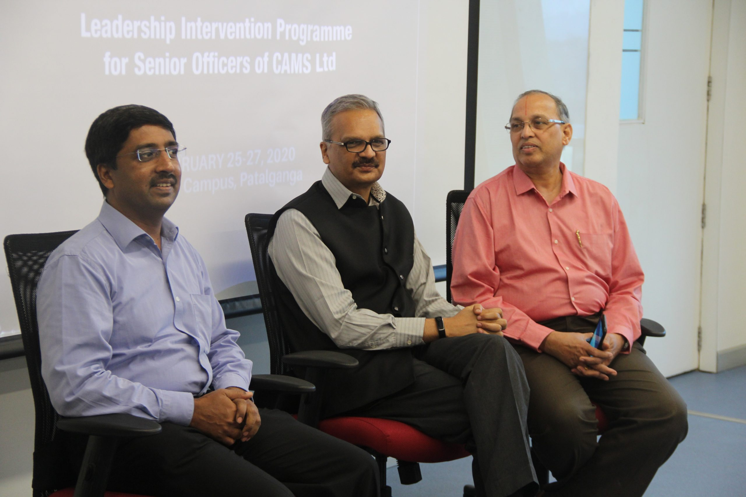 Leadership Intervention Programme for Senior Officers of CAMS Ltd| February 25-27, 2020