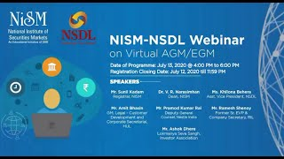 NISM-NSDL Webinar