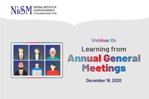 Webinar on Learning from Annual General Meetings